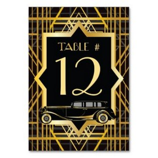20s table numbers