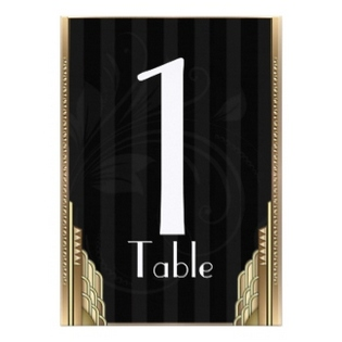 great gatsby table numbers