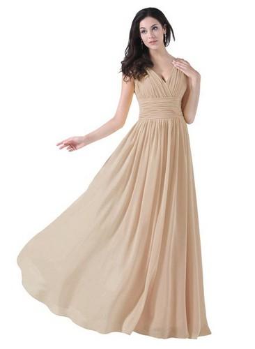 Long chiffon dress under 100