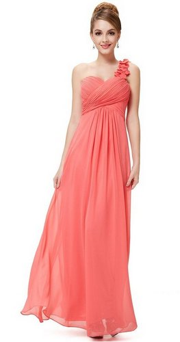 coral bridesmaid dresses under 50