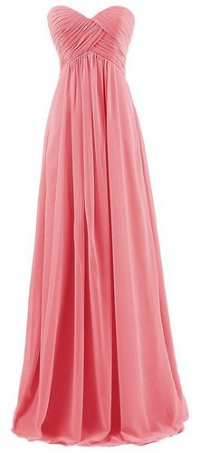 coral maternity bridesmaid dress