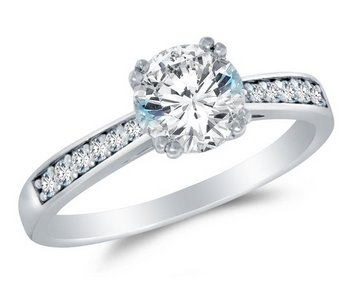 Cubic-Zirconia-engagement-Ring-Round-Brilliant