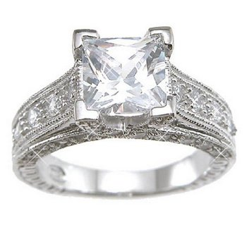 Sterling-Silver-Cubic-Zirconia-CZ-Princess-Cut-Engagement-Promise-Ring