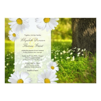 daisy wedding invitations - dream wedding ideas, Wedding invitations