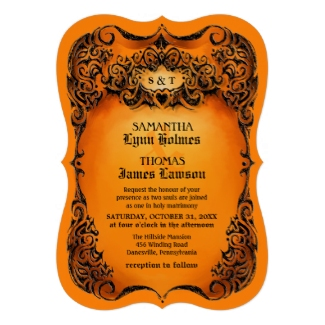 unique-halloween-wedding-invitation