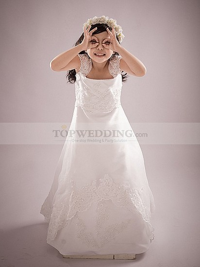 toddler-ivory-lace-flower-girl-dresses