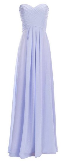 chiffon-strapless-periwinkle-dress-for-bridesmaid