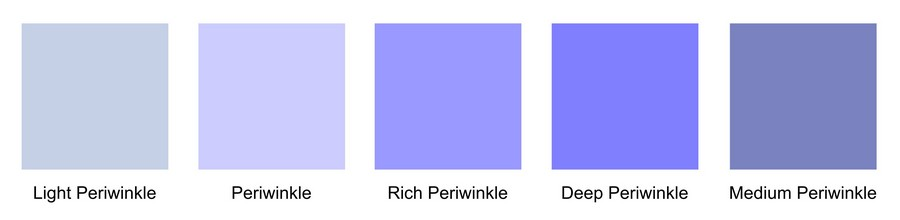 periwinkle-color-chart
