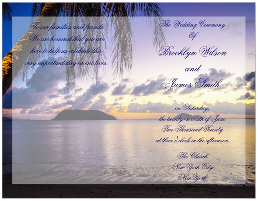 wedding-program-beach