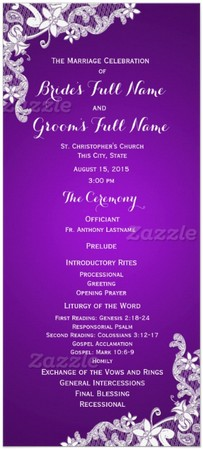 wedding-program-card-purple