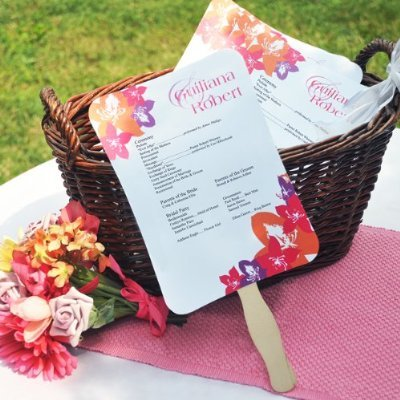 wedding program ideas diy