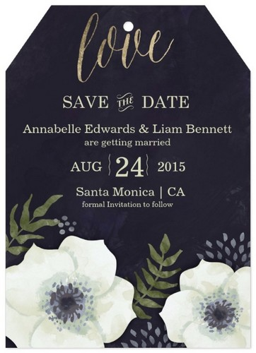 WeddingSavetheDateInvitationCard