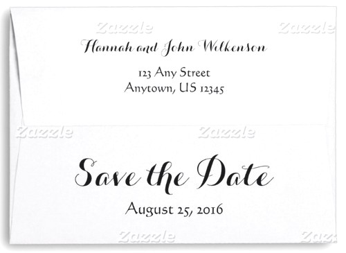How to address save the dates in Brisbane