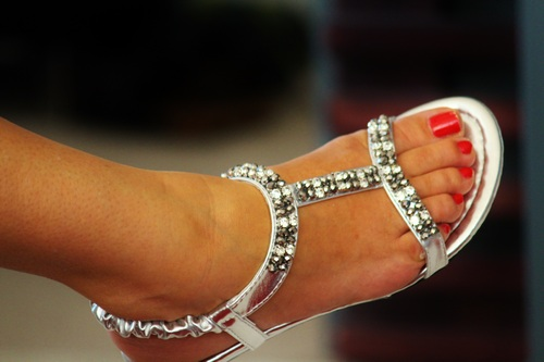 flat silver sandals for wedding
