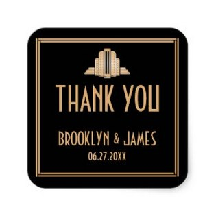 personalized-wedding-stickers-art-deco-style