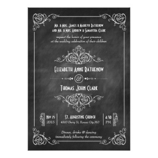 wedding-invitations-art-deco-chalkboard