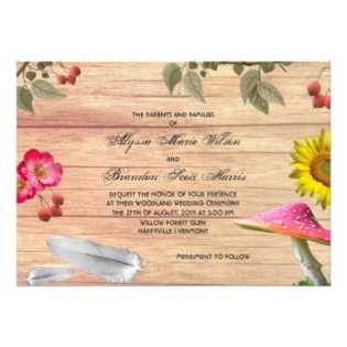 bohemian-wedding-ceremony-invitation-card