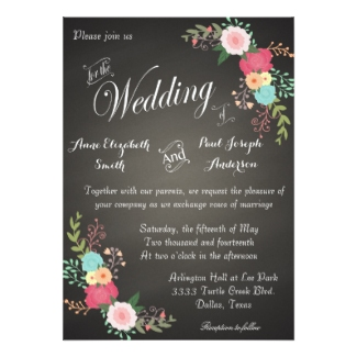 floral-and-chalkboard-wedding-invitations
