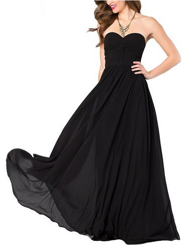 long-chiffon-dresses-strapless-a-line