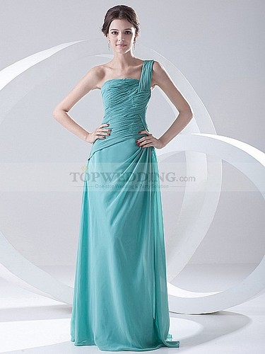 one-shoulder-chiffon-long-dress-for-bridesmaids