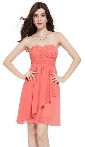 cheap coral dresses under 50 dollars