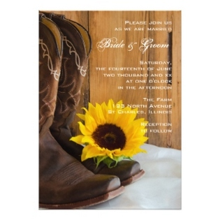 country-wedding-invitations-boots-sunflower