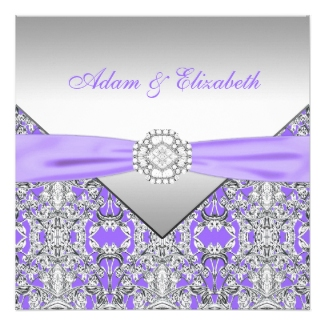 Lavender Wedding Invitations - Dream Wedding Ideas