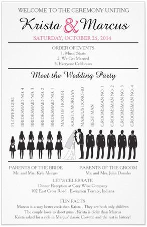 wedding program ideas dream wedding ideas