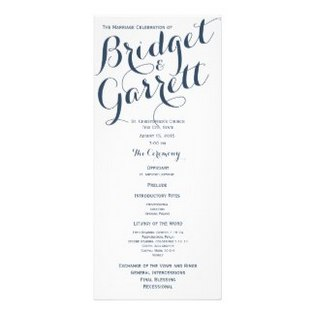 Wedding Program Example.Program Examples Dream Wedding Ideas