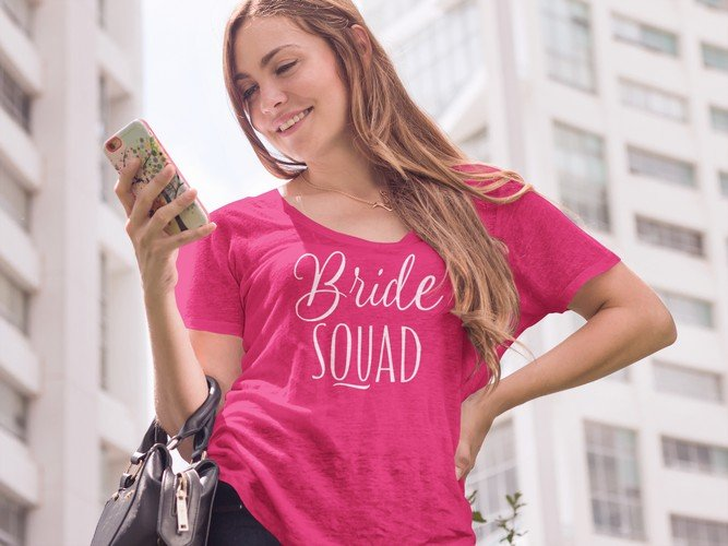 team bride bachelorette party shirts