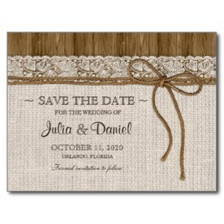 rustic-save-the-date-burlap-lace